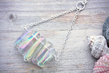 Quartz Necklace Crystal Rainbow Jewelry