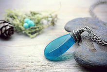 Dragon Egg Necklace Turquoise Agate