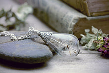 Dandelion Seed Necklace Fairytale Jewelry