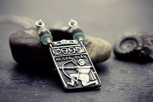 Viking Necklace Talisman Jewelry Heilag
