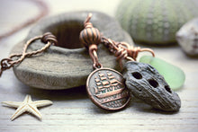 HMS Victory Token Necklace Driftwood