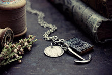 Persuasion Necklace Jane Austen Book