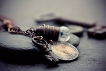 Hot Air Balloon Necklace Token