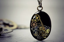 Steampunk Necklace Watch Part Pendant
