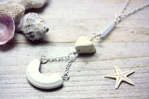 I Love You Necklace Sea