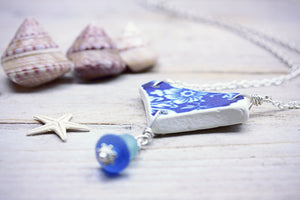 Blue and White Sea Pottery