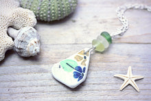 Sea Pottery Shard Necklace Seaglass