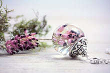 Heather Necklace Forest Pendant Real
