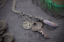 Time Traveler Found Object Necklace