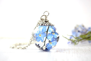 Forget Me Not Necklace Wild