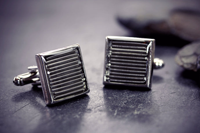 Guitar String Cufflinks Gift For