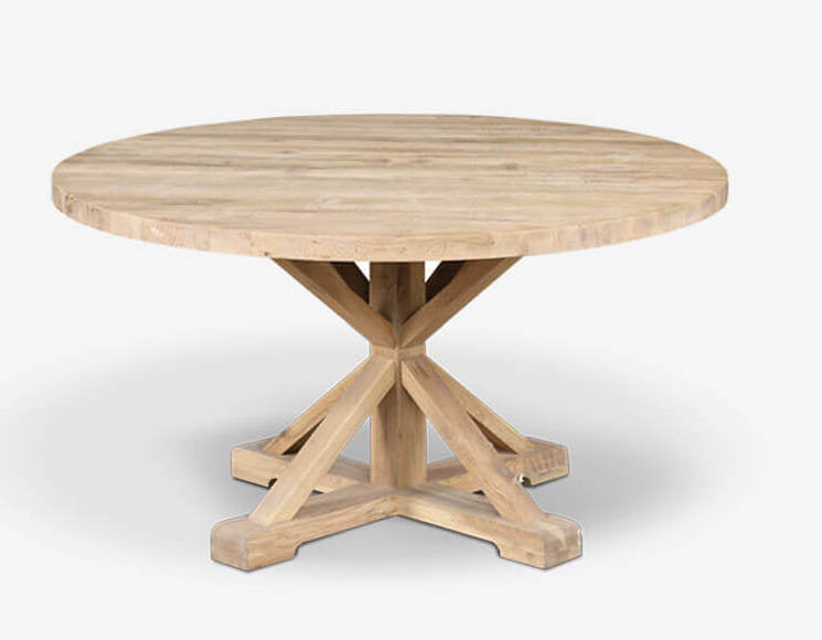 OAK BRUGES DINING TABLE