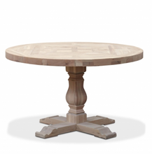 OAK FLORENCE  ROUND DINING TABLE