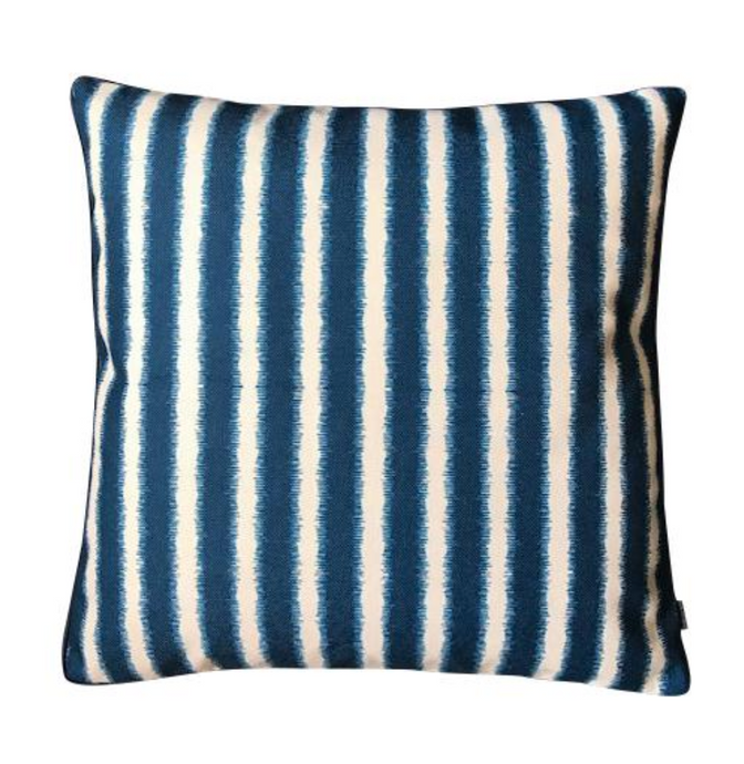 NAVY STRIPE CUSHION COVER