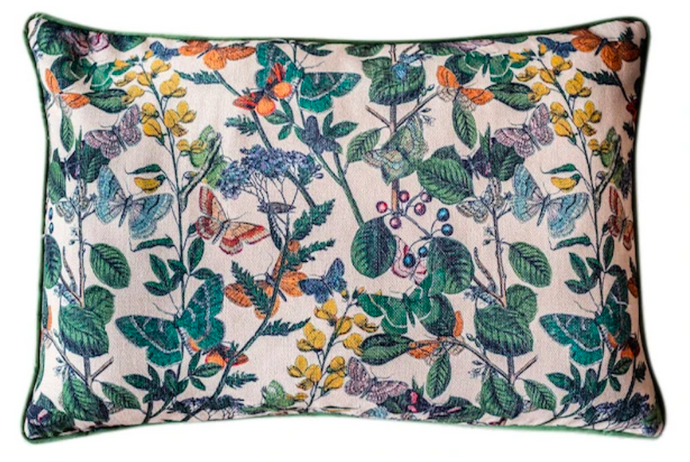 BUTTERFLY BLOOMS CUSHION COVER