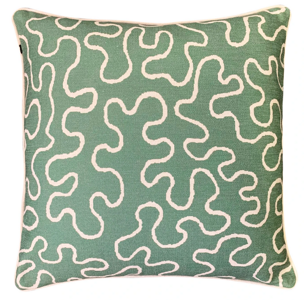 MOSS LINE CUSHION COVER