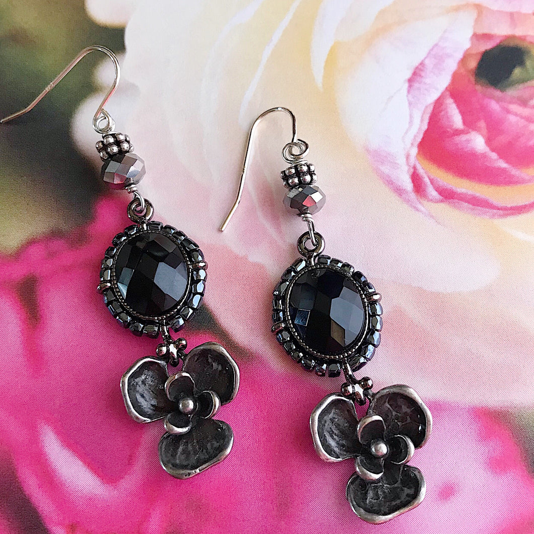 Midnight In The Garden Earrings
