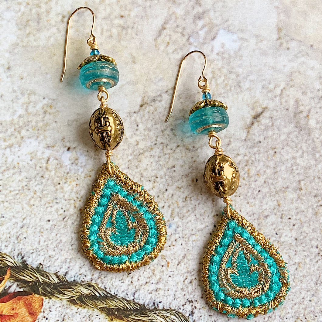 Kashmir Earrings