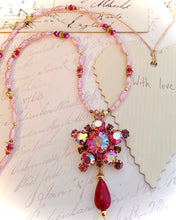 In Pink Armour Necklace