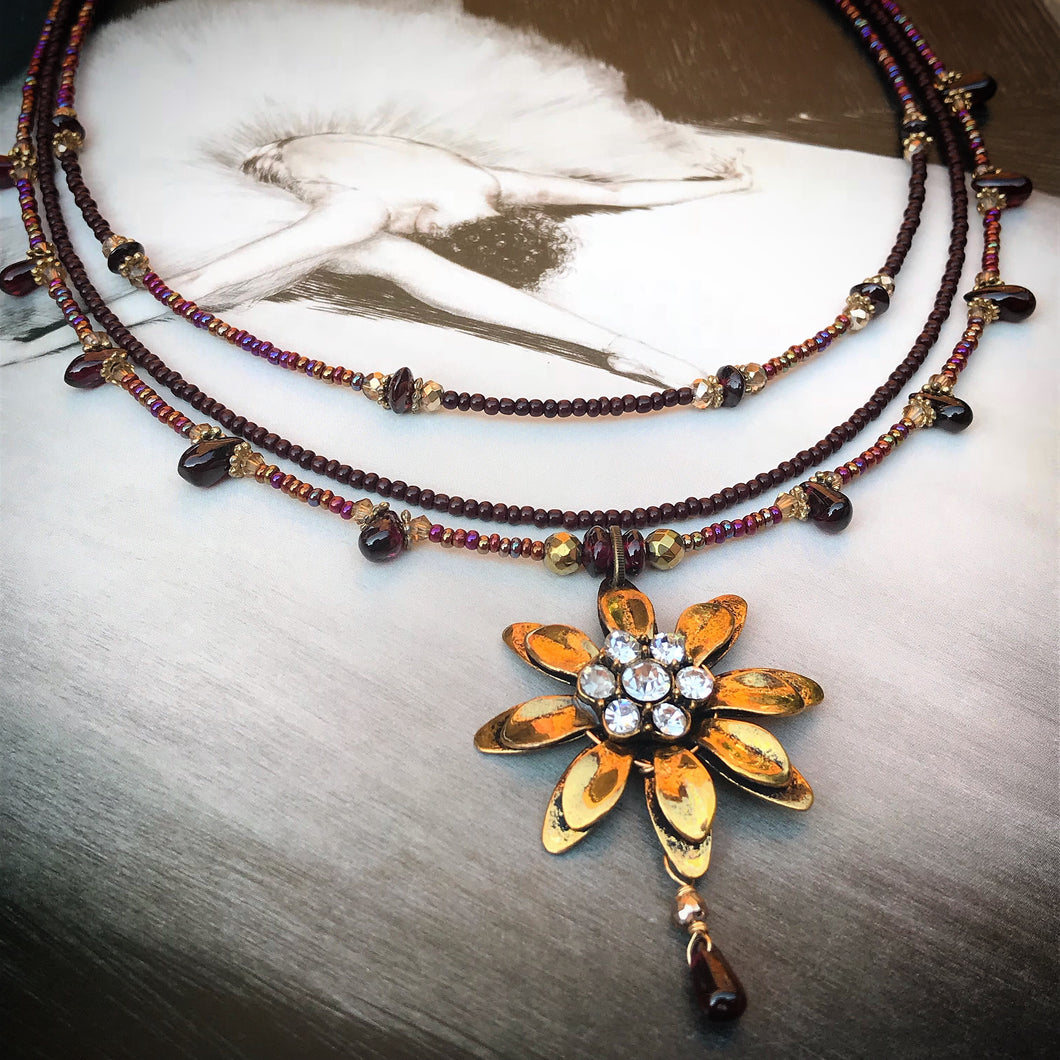 Wildflowers Necklace