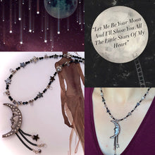 Let Me Be Your Moon And I'll Show You All The Little Stars Of My Heart Necklace