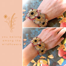 You Belong Among The Wildflowers Bracelet