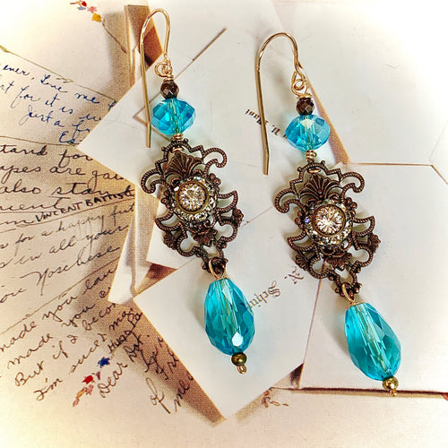 A Wandering Star Earrings