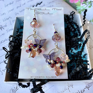 If Nothing Ever Changed There'd Be No Butterflies Earrings