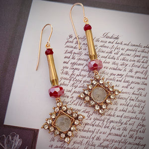 Dance Me To The End Of Love Earrings
