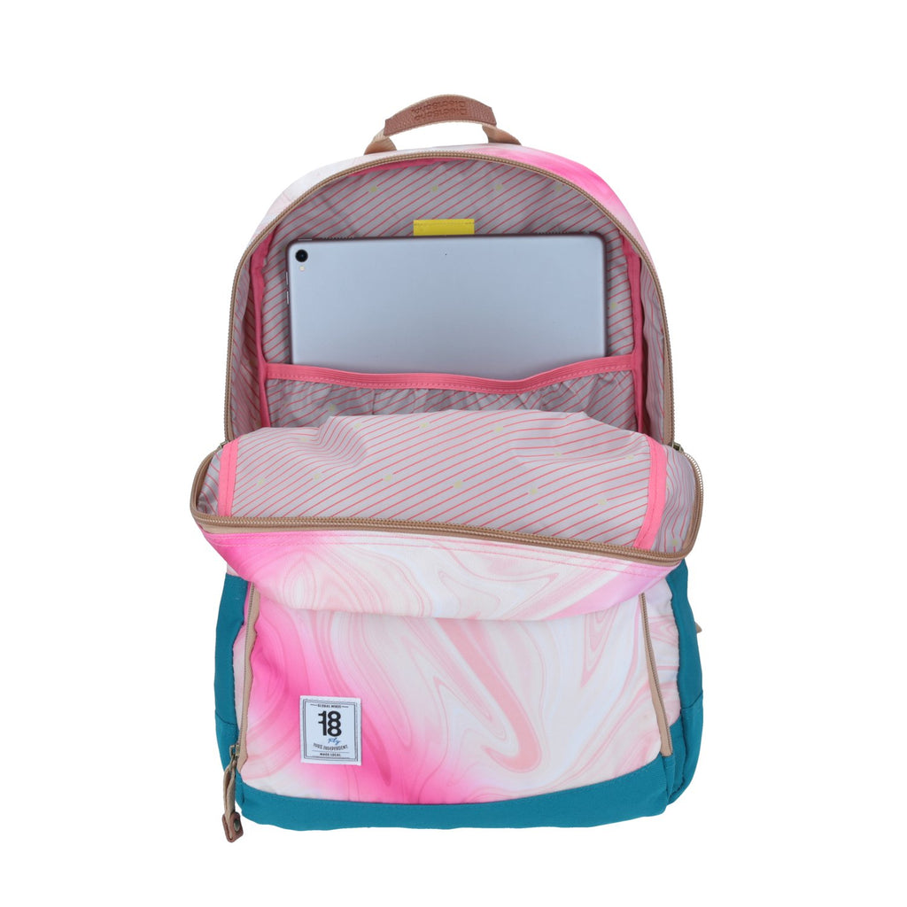 Mochila Daypack Abstract Rosa