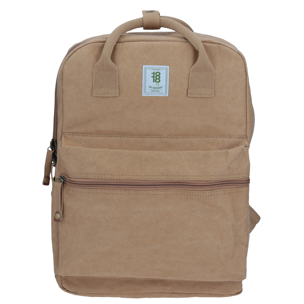 Mochila Eco Tote Backpack Café