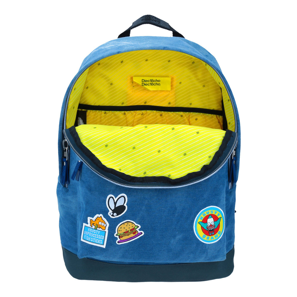 Mochila krusty camp denim simpson
