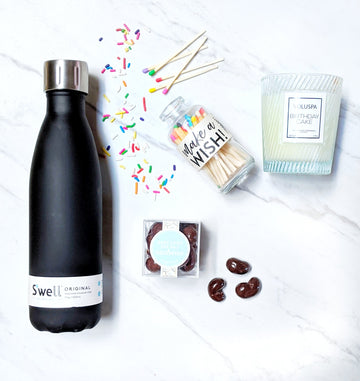 Black Bottle & Chocolate Gift Box