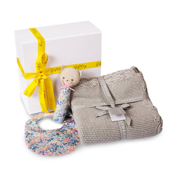 Liberty Blue Baby Gift Box
