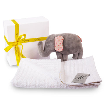 Snuggle Ellie & Blanket Gift Box