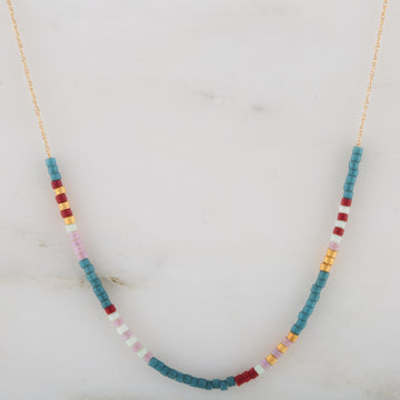 Microbead 14K Necklace