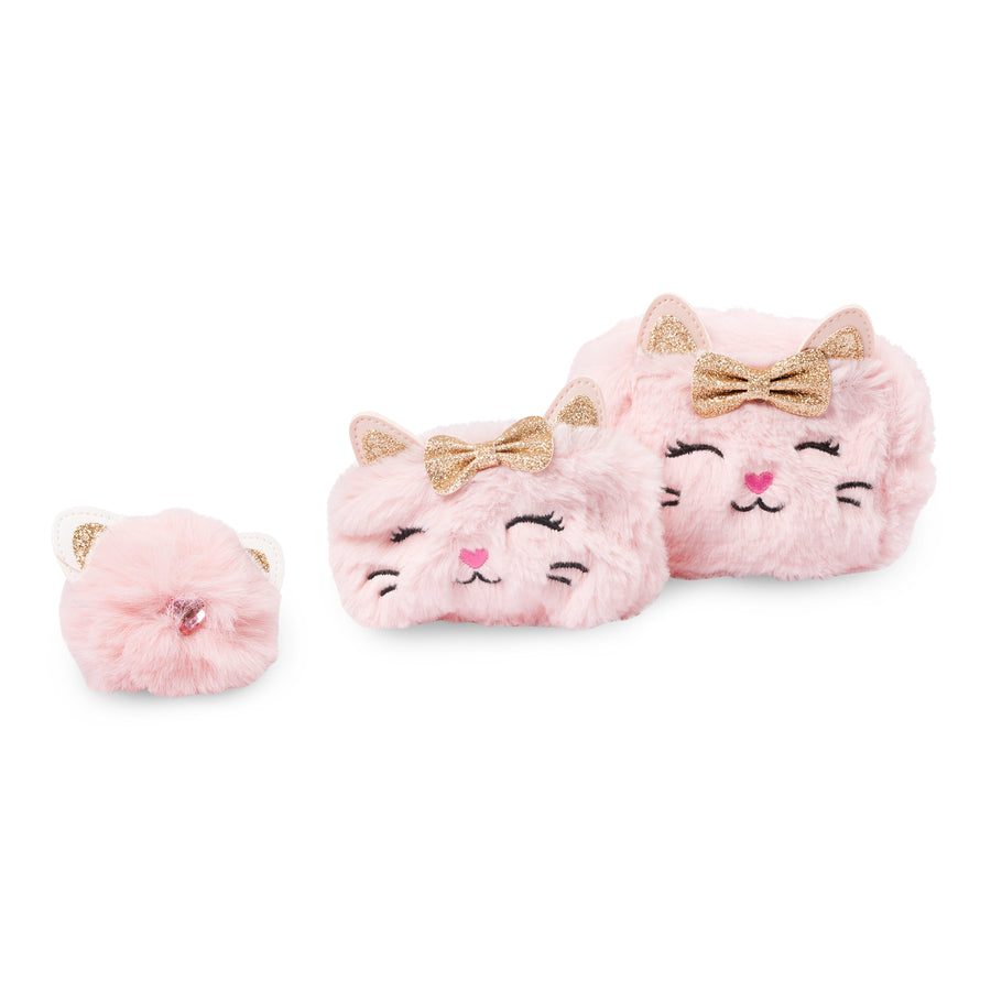 Glitter Kitty Bow Gift Set