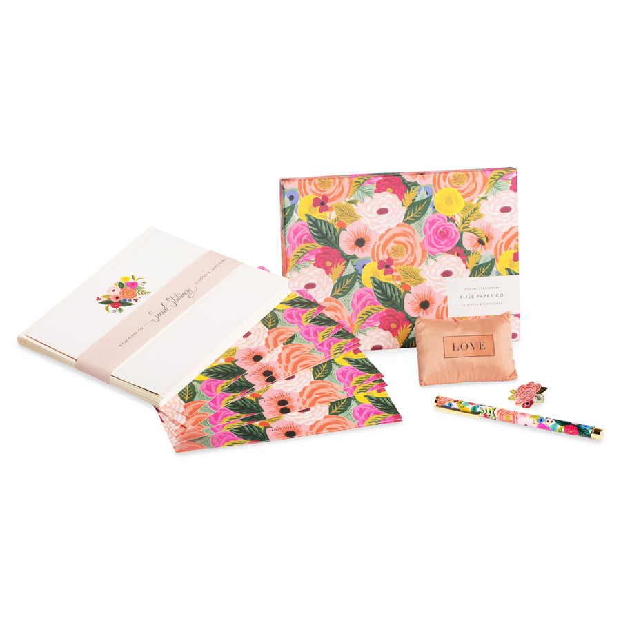 Juliet Rose Stationary Gift Set