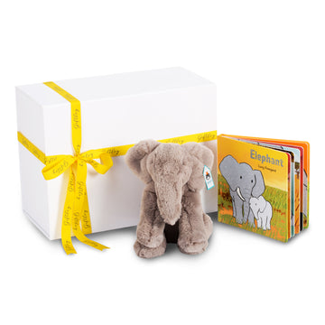 Emile Elephant & Board Book Set