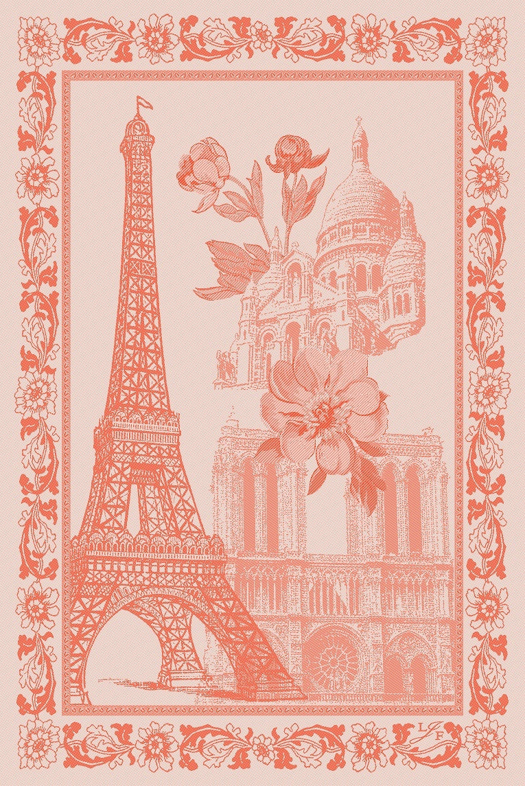 Le Jacquard Francais Paris Tea Towel
