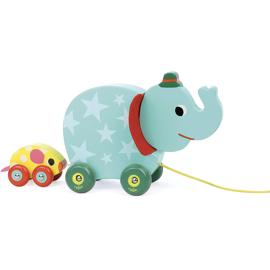 The Elephant and the Mouse Pull Along Musical Toy