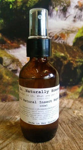 Brown bottle of Natural Insect Repellent