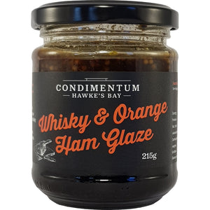 Whiskey & Orange Ham Glaze