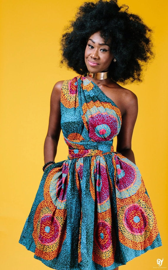 African Dashiki Dresses Design