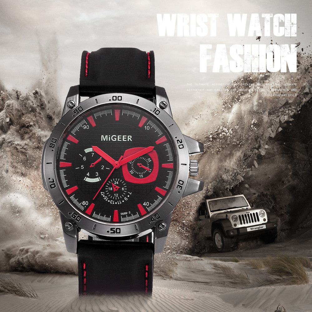 Mens Watches Top Brand Luxury Quartz wristwatches Men Fashion Silicone strap Sport Victorian Style Bracelets Men Exquisite#YY