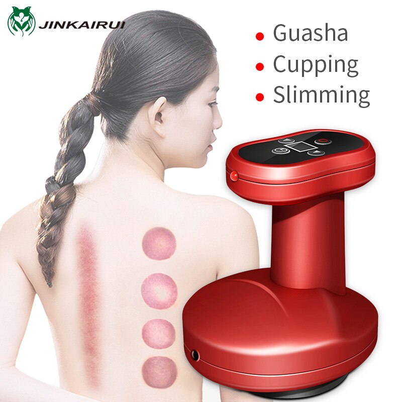 Electric Cupping Massage Guasha Suction Scraping Massager Negative Pressure Meridian Dredge