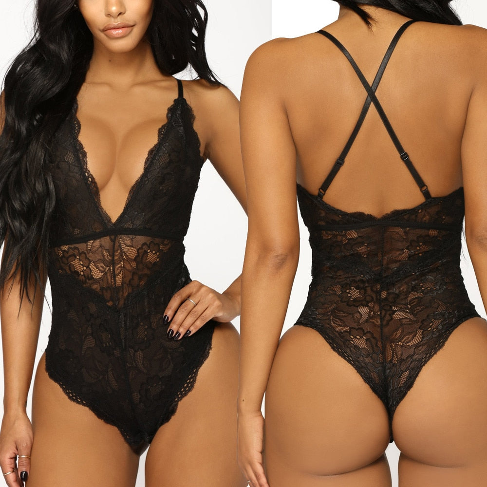 Sling Lace Racy Temptation  lingerie sexy hot erotic