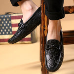 Mens Loafers Leather Moccasin Shoes