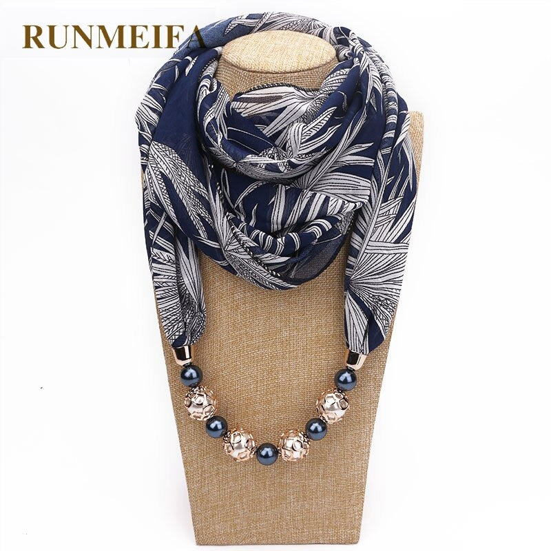 statement necklace Scarf for women