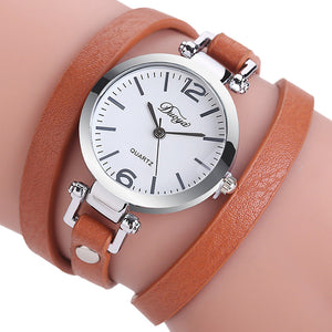Ladies Bracelet Diamond Circle Watch Student  Fashion Table